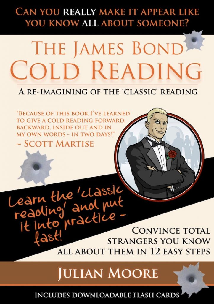 james bond cold reading cover