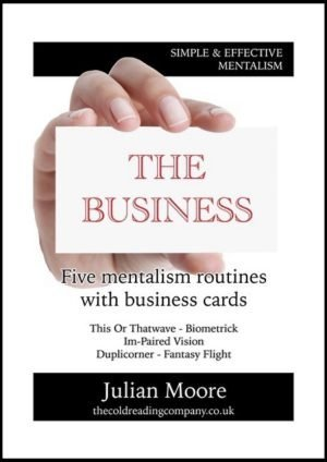 mentalism the business front cover