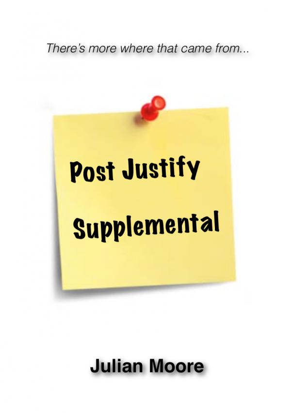 mentalism post justify supplemental cover