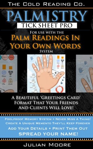 palmistry tick sheet pro promo graphic