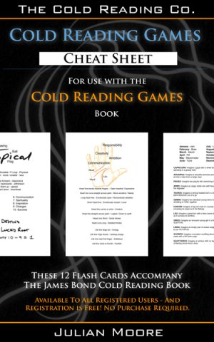 cold reading games promo