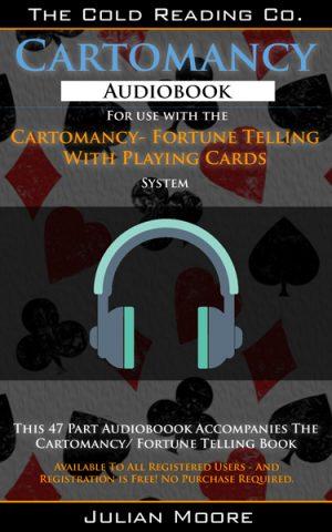 cartomancy audio promo graphic