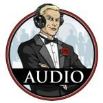 james bond cold reading headphone audio graphic