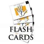 palmistry flash cards graphic